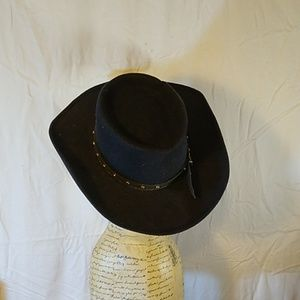 Other - Pigalle Cowboy Hat size 6 3/4 Black
